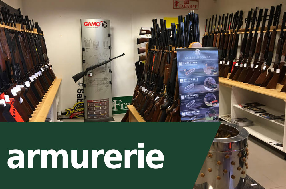 armurier - chasse
