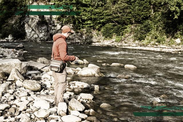Pêche en rivière
